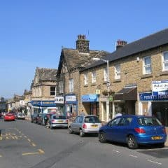Shops on Yeadon High Street