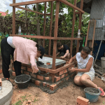 Katie Building Homes in Cambodia