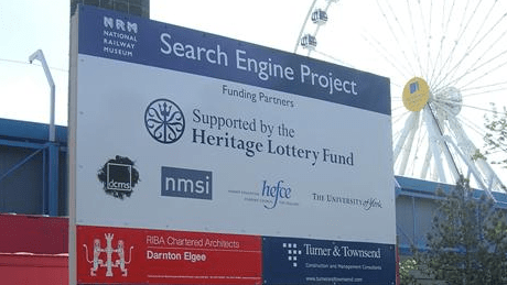 Search Engine Project sign