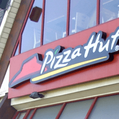 Pizza Hut Entrance