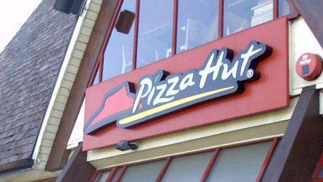 Pizza Hut Entrance