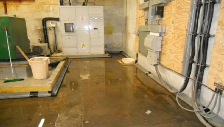 basement waterproofing solution for flooded basement