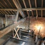 The whole loft area in a propt before the work had started
