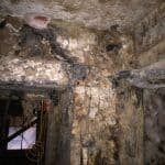 Dry rot infested basement