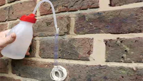Damp Proofing with a Karsten Tube