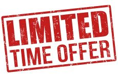 Limited Time offer wording