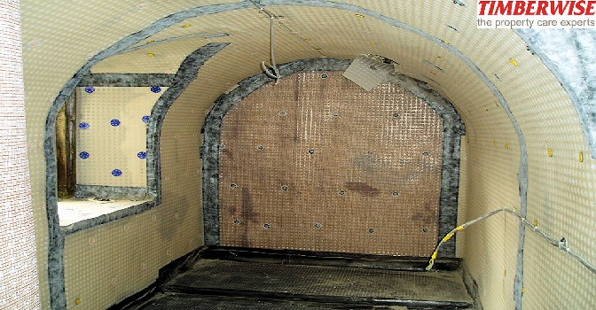 Surveyors Fotofile Basement Waterproofing Timberwise