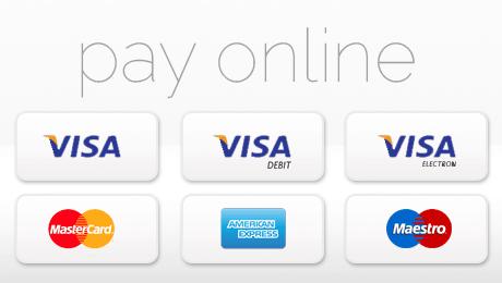 Various Visa payment options