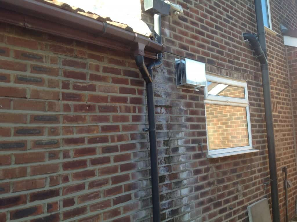 Penetrating damp on property in Winchester