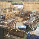 Podium deck prior to waterproofing