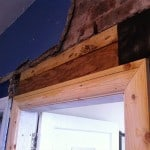 Replaced timbers