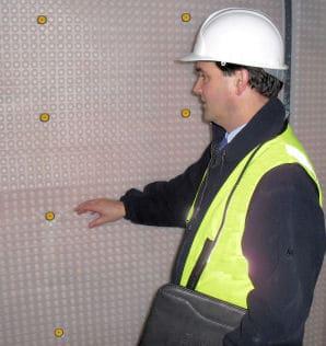 Surveyor and membrane