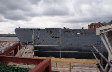 The side of U-534