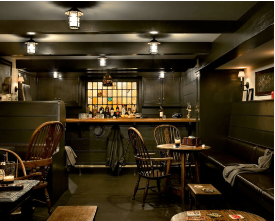 Bar basement, interior design, basement conversions
