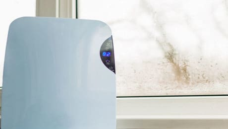 dehumidifer-on-window