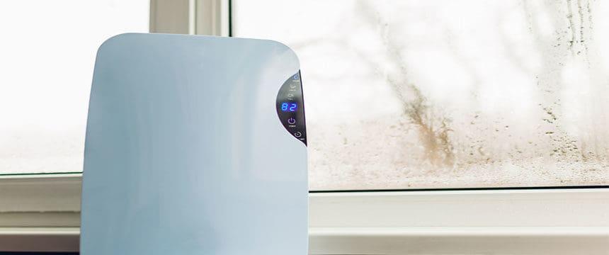 dehumidifer-on-window