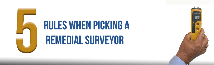 Choosing A Surveyor