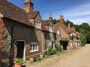 Victorian cottages in Buckinghamshire