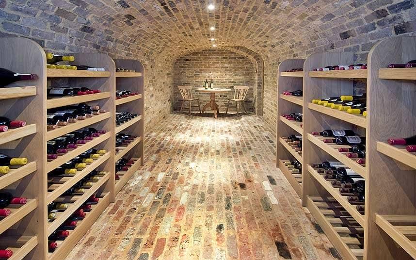 wine cellar, basement conversions,